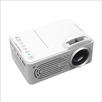 Dean - Mini proyector portátil para Cine en casa, proyector LED HD ...