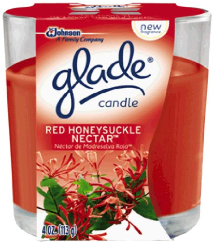 Glade Candle, Red Honeysuckle Nectar, 4 - Bees Nectar And