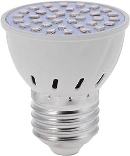 Starnearby LED Pflanzenlampe 3W E27 36 LEDs Vollspektrum Pflanzenlicht Led Grow Light Lampe für Zimmerpflanzen, Garten Gewächshaus Blüte, Blumen und Gemüse