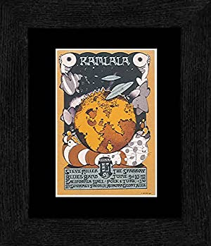 Steve Miller The Sparrow - California Hall San Francisco 1967 Framed and Mounted Print - 20x18cm