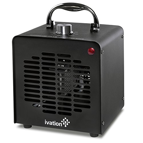 Ivation 5000mg/h Ozone Generator Air Purifier, Ionizer & Deodorizer - Purifies Up to 1,000 Sq/Ft -...