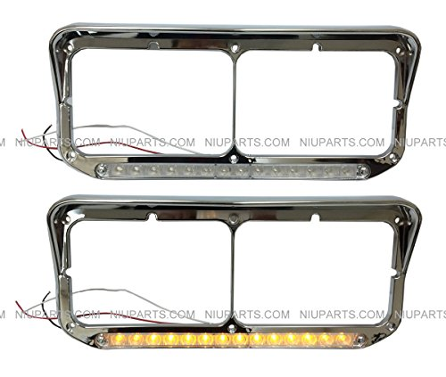 Headlight Bezel with 12