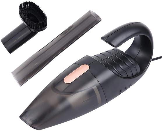 Aspiradora De Mano Dc12V 120W Aspirador Portátil para Auto Mojado Seco En Casa Uso Dual Colector De Polvo Colector De Limpieza De Automóviles: Amazon.es: Hogar