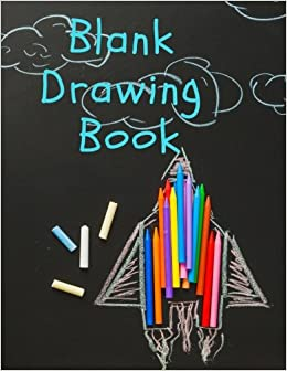blank drawing book 150 pages 85 x 11 large sketchbook journal white paper blank drawing books volume 2