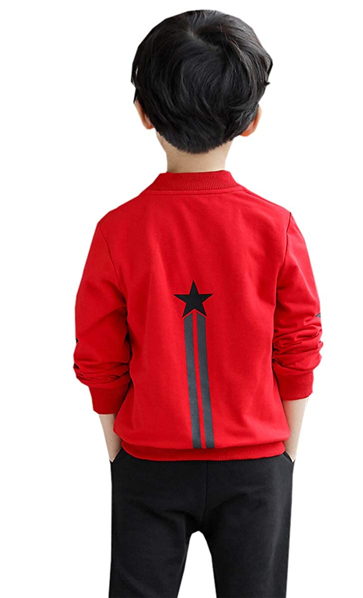 Betusline Boys Zip Up Sweatshirt