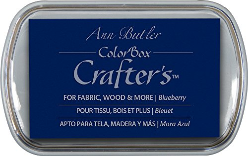 ColorBox Crafter's Ink by Ann Butler, Blueberry