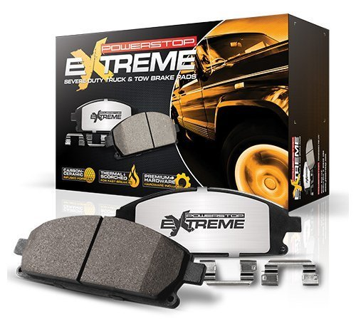 Power Stop (Z36-1680) Z36 Extreme Severe-Duty Truck & Tow Brake Pads, Front by Power Stop 4333105945