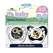 Michaelson Entertainment 2 Piece Pacifier, Georgia Tech