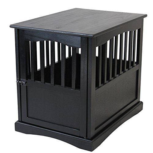 Casual Home Solid Wood Pet Crate End Table (Table Crate)