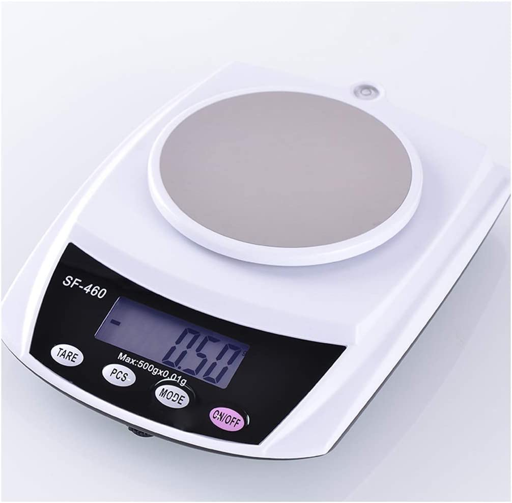 ZYY Electronic Scales,Household Kitchen Baking 0.1g High-Precision Tea Small Scales Chinese Medicine Food Weighing