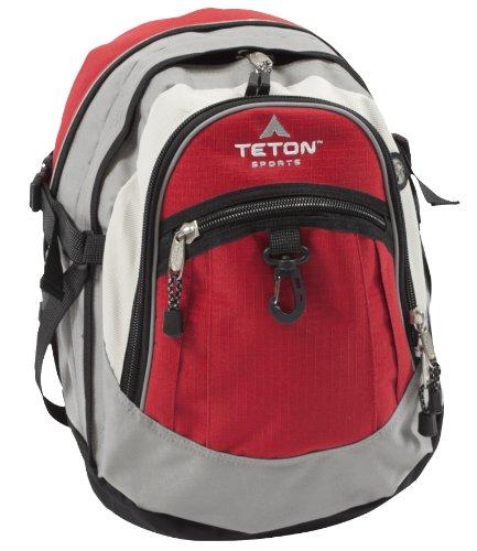 TETON Sports Bookbag (Red/Grey), Outdoor Stuffs