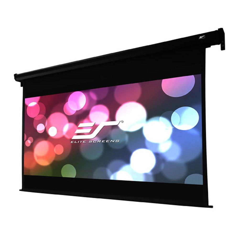 "Amazon.com: Elite Screens VMAX Dual, 100"" 16:9/95"" 2.35:1, Dual Format  Wall/Ceiling Motorized Cinema Projector Screen, VMAX100H95C: Home Audio &  Theater"