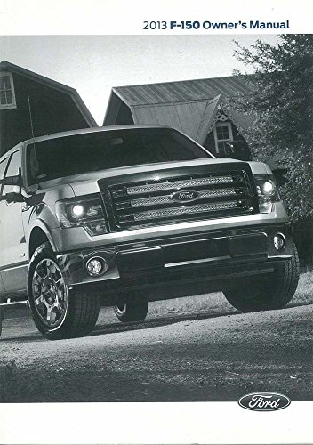 2013 Ford F150 Owner's Manual Guide Book
