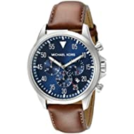 Michael Kors Men's Gage Brown Watch MK8362