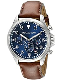 Michael Kors Men's Gage - MK8362 Brown/Navy