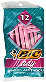 BIC Single Blade Shaver, Lady, 12-Count (Packs of 12)