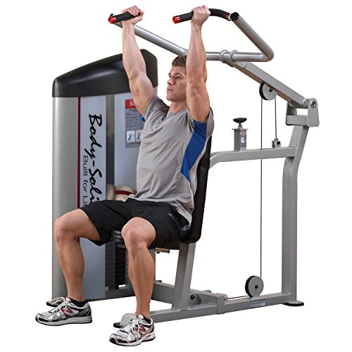 Body Solid S2SP3 ProClub Line Series 2 Shoulder Press Machine with 11-Gauge Steel Construction and Instructional Placards 310-Pound by Body-Solid