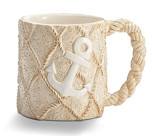 Nautical Treasures Anchor Coffee Mug