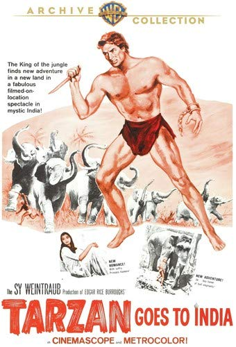 Tarzan Goes to India (1962) [Blu-ray]