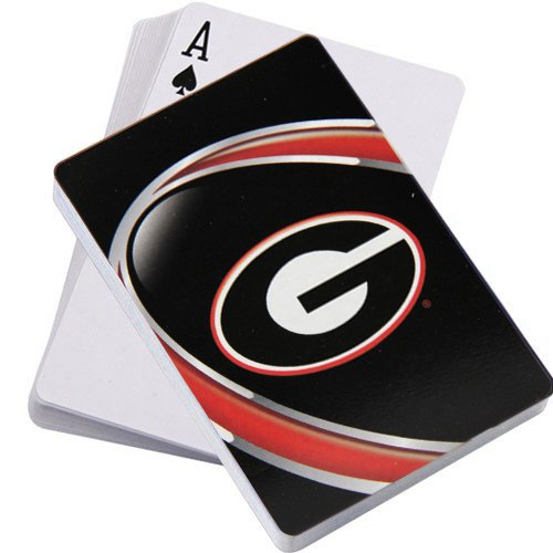Ncaa Playing Cards - NCAA Georgia Bulldogs Vortex Playing Cards
