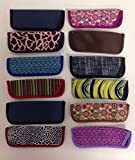 Wholesale Lot- 10 Foster Grant Reading Glasses Slim Soft Sleeve Cases New Assorted
