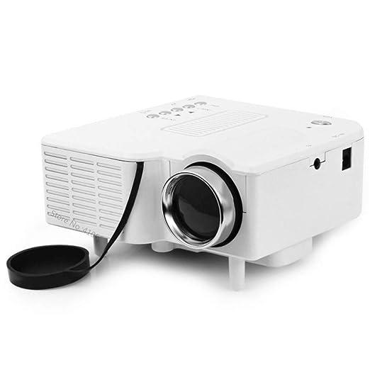 Xxw Mini proyector de Video de películas caseras con PC HDMI ...