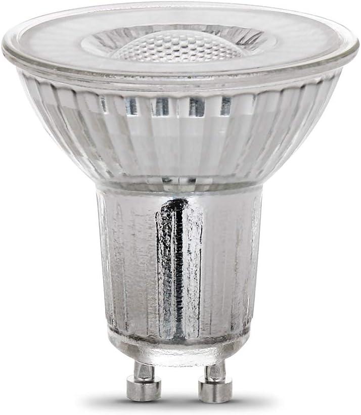 2.2H x 2D Feit Electric BPMR16//GU10//930CA//6 4W 35W Equivalent Dimmable 300 Lumens LED MR16 Light Bulb 6 Piece 3000K Warm White