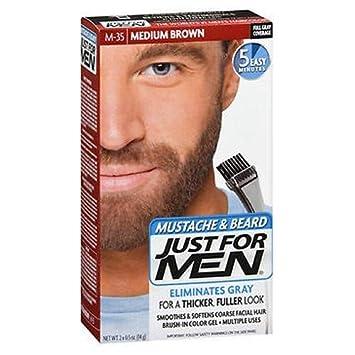 Just For Men Brush-In Color Gel Medium Brown M-35