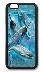 iPhone 6 Plus Case,VUTTOO Stylish Narwhals Soft Case For Apple iPhone 6 Plus (5.5 Inch) - TPU Black