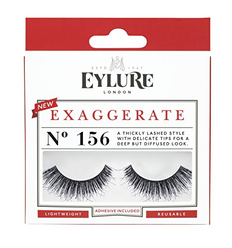 Eylure Naturalites Natural Texture #156 False Eyelashes, Black