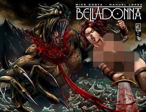 Belladonna #3 Nude Wrap Cover PDF ePub ebook