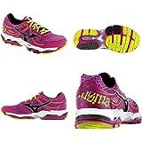 Mizuno 2013/14 Women's Enigma 3 Running Shoes - 410538 (Raspberry Rose/Black - 6.5) Size 6.5 W US