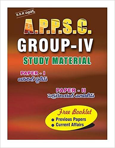 Appsc Group 4 Syllabus Pdf