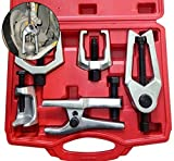 Ball Joint Separator Kit - Pitman Arm Puller Tool - Tie Rod End Remover - Front End Service Set – Outer Tie Rod Removal - 6 Piece