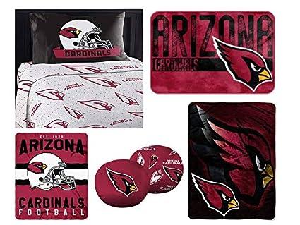 "6eb044a4e1d24 Amazon.com: Northwest NFL Arizona Cardinals ""Monument"" Twin Sheet ..."