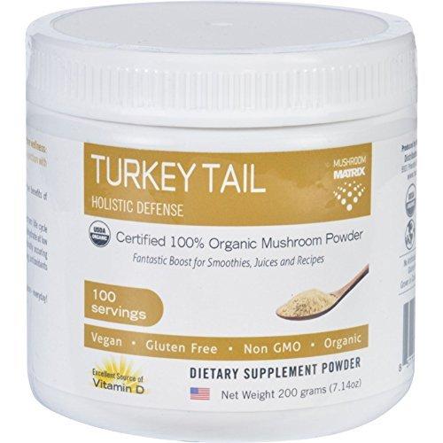 Mushroom Matrix Turkey Tail - Organic - Powder - 7.14 oz