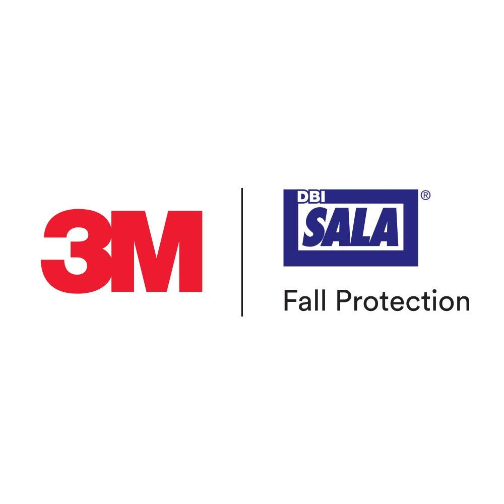 3M DBI-SALA 7600510 Sayline Synthetic Horizontal Lifeline System, 100' Kernmantle Rope with Tensioner, Energy Absorber, Two 6' Tie Off Adaptors, Carrying Bag, Black