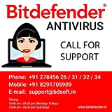 BitDefender Internet Security Latest Version (Windows) - 1 User, 3 Years (Activation Key Card)