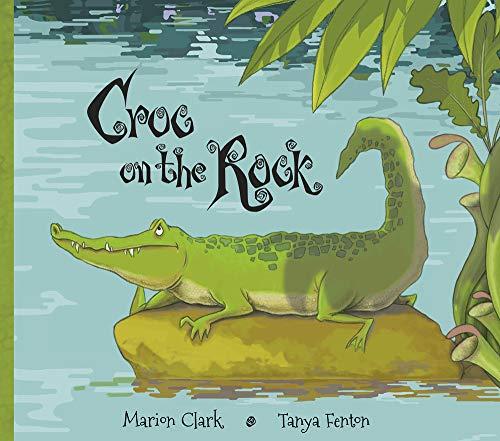 Croc on the Rock -