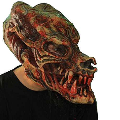 Zagone Undertaken Mask, Old Dead Man with Top Hat & Hair -