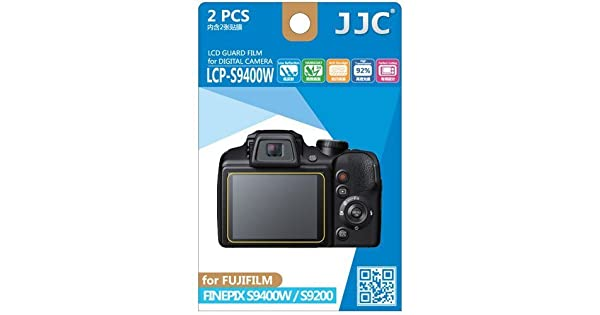 JJC LCP-N2  polycarbonate LCD Screen Protector For Canon N2 2 Pack