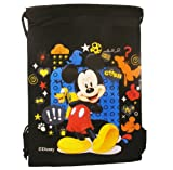 Cheap Disney Mickey Black Drawstring Bag