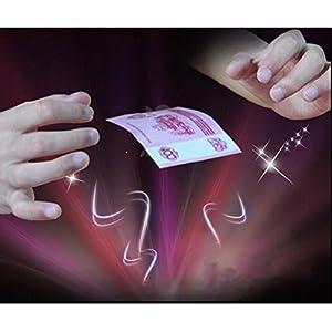 Dengguoli Invisible Elastic Magic Thread, Stretch Hidden Coil Thread Loop, Haunted Magic Tricks that Float Suspension