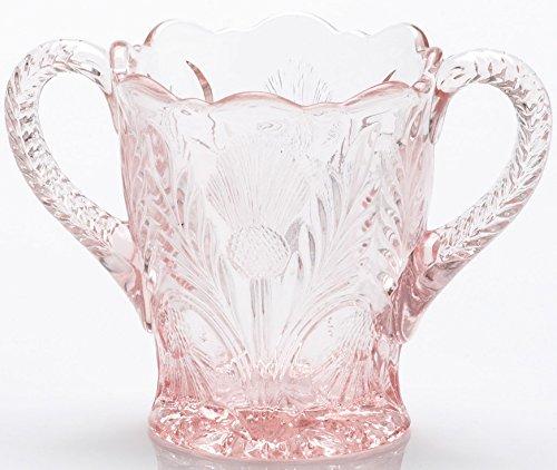 (Sugar - Inverted Thistle - Mosser Glass - USA (Rose Pink))