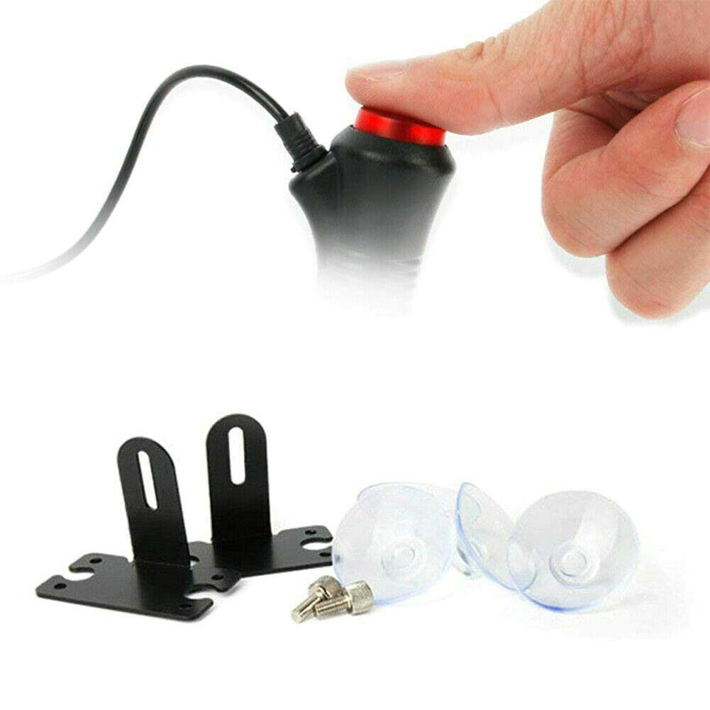 DD-BOMG Car LED Strobe Lights Windshield Flashing Dash Emergency Lamp Amber Warning Flashing Light 12V