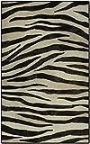 Brumlow Mills EW10220-30x46 Zebra Stripes Animal Print Rug, 2'6 x 3'10