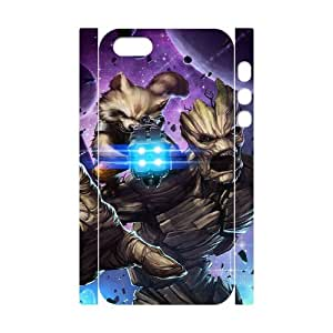 J-LV-F Guardians of the Galaxy1 Phone 3D Case For iPhone 5,5S [Pattern-4]