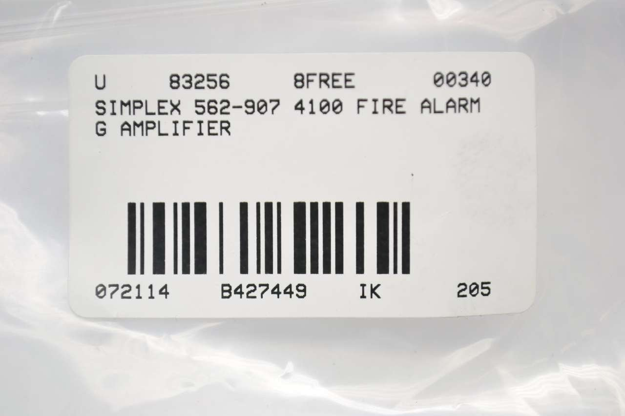 simplex 562 907 4100 fire alarm g amplifier pcb circuit board rh amazon com