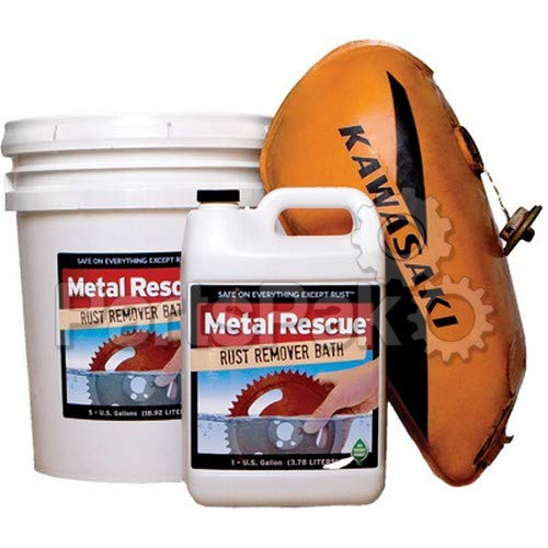 Wps - Western Power Sports Wh290497 Metal Rescue Rust Remover Bath 1qt