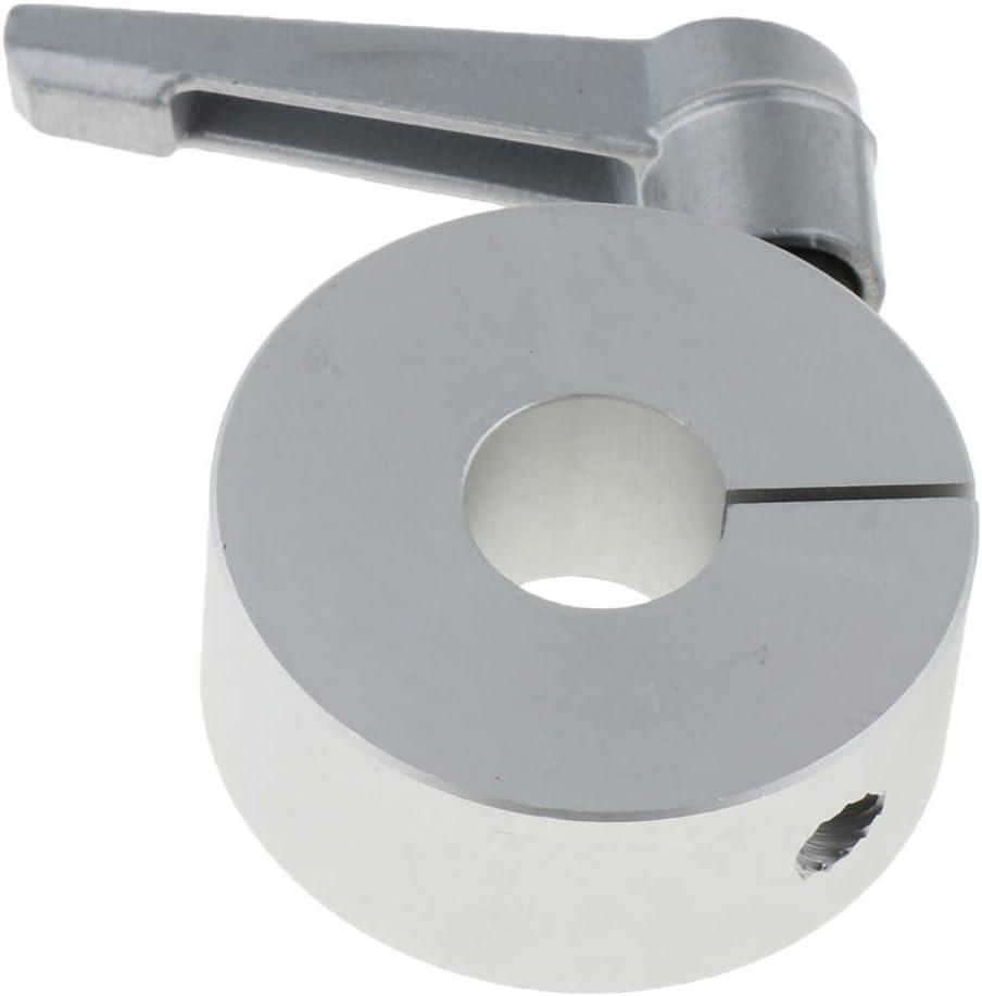 Drill Bit Shaft Depth Stop with Handle 10//12//15//16//20//30mm 30mm Baosity Solid Aluminum Split Ring Stop Collar